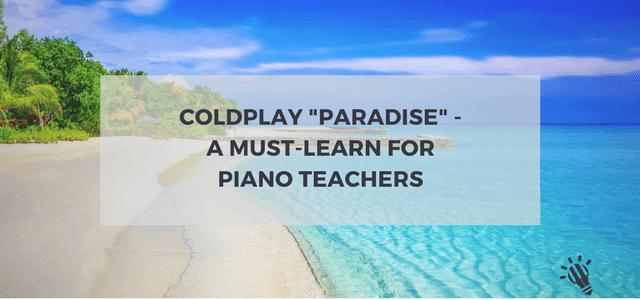coldplay piano teachers