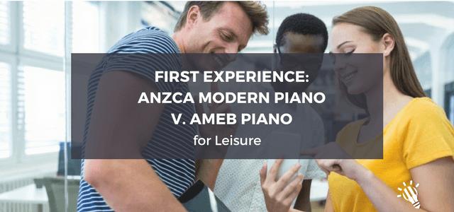anzca modern piano for leisure