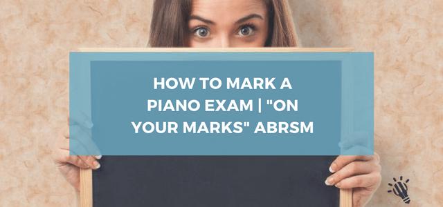 piano exam abrsm