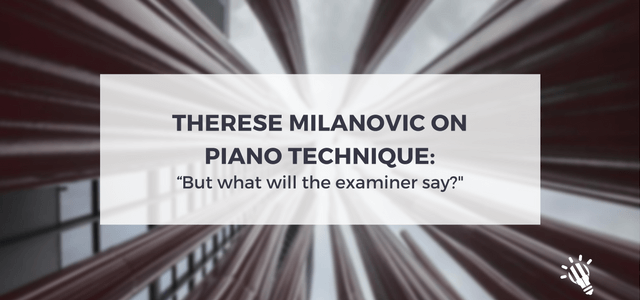 piano technique therese milanovic