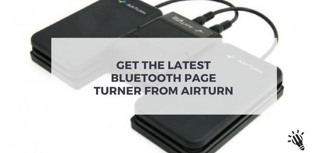 bluetooth page turner