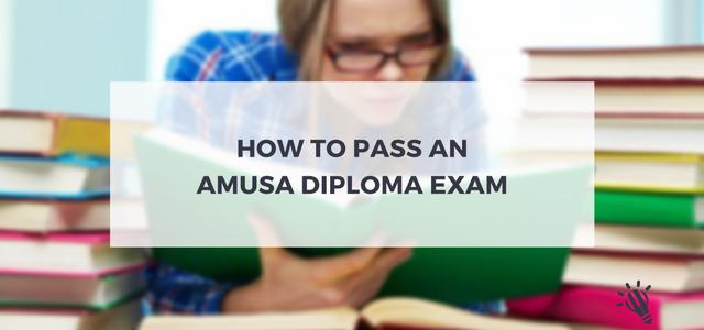 pass an AMusA diploma exam