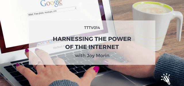 power of internet joy morin