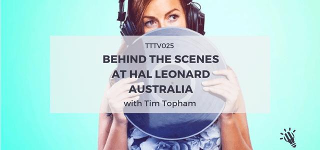 behind the scenes hall leonard australia