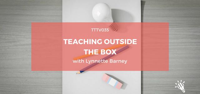 teaching outside the box lynette barney