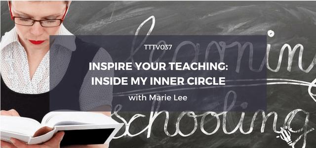 inspire teaching inner circle marie lee