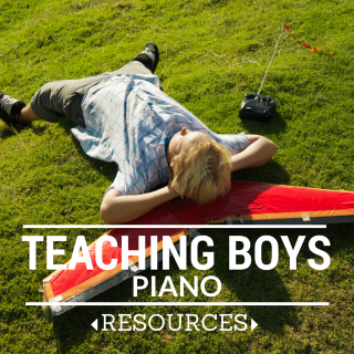 piano lessons for boys