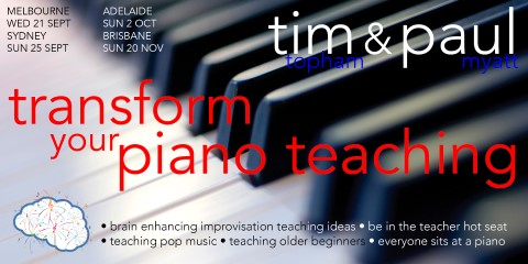 piano teacher training day