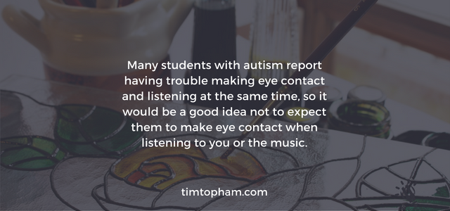 autism and music teaching