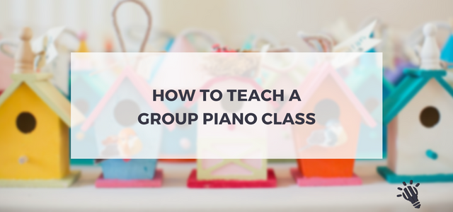 Group Piano Class