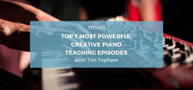 creative piano teaching