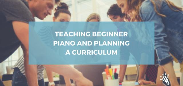 teaching beginner piano