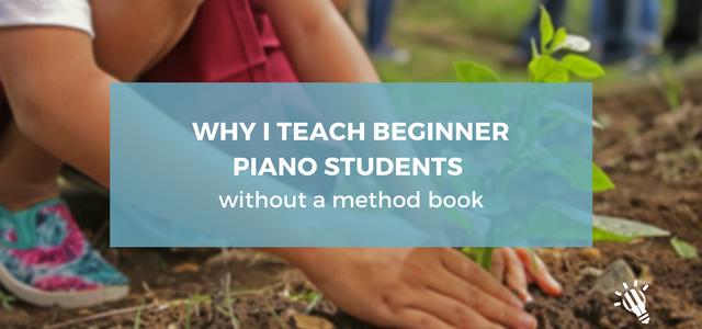 teach beginner piano
