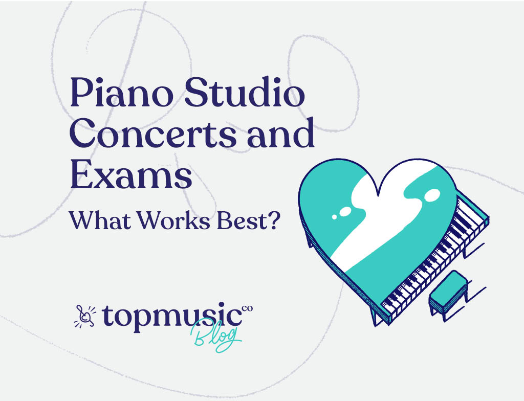 Recitals Concerts and Exams blog illustration