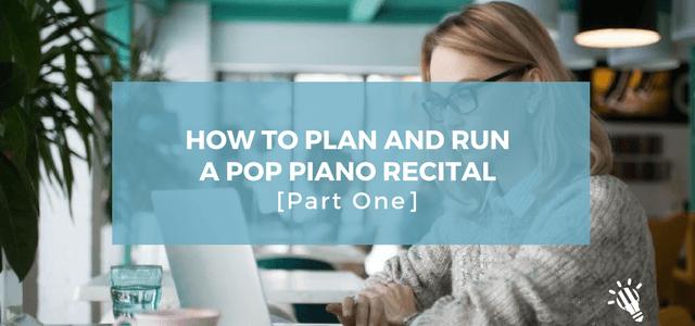 pop piano recital