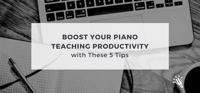 teaching productivity