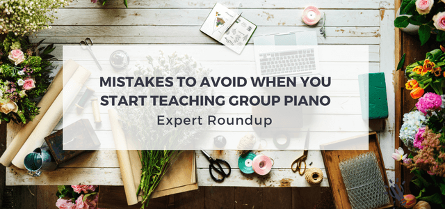 teaching group piano