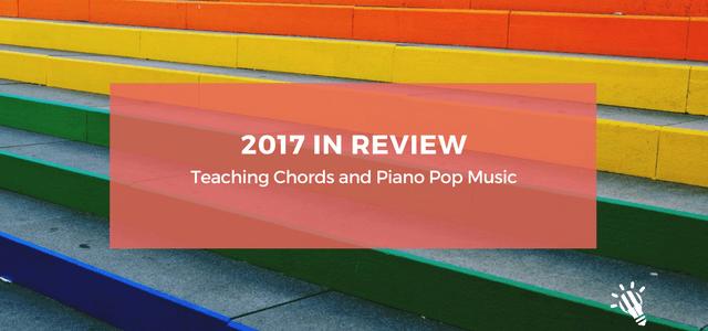 2017 teaching chords piano pop music