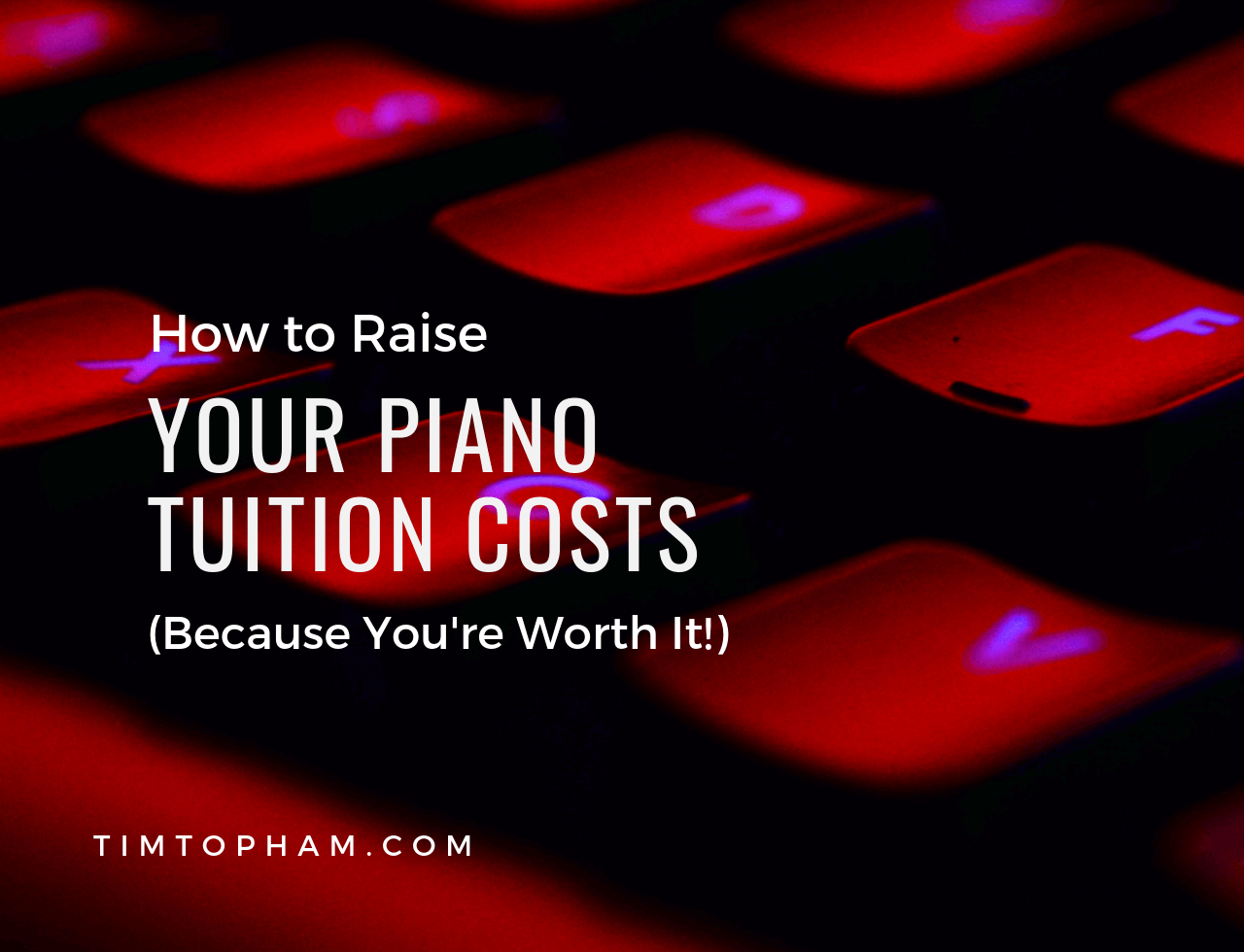 piano tuition costs