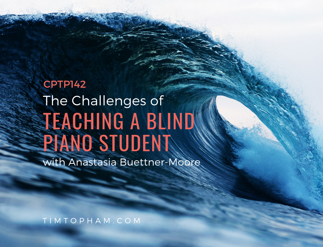 blind piano student
