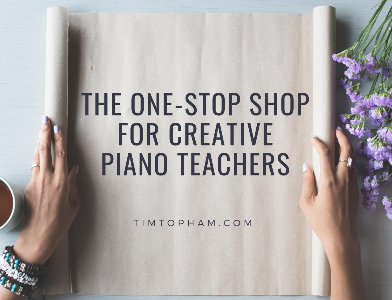 creative piano teachers