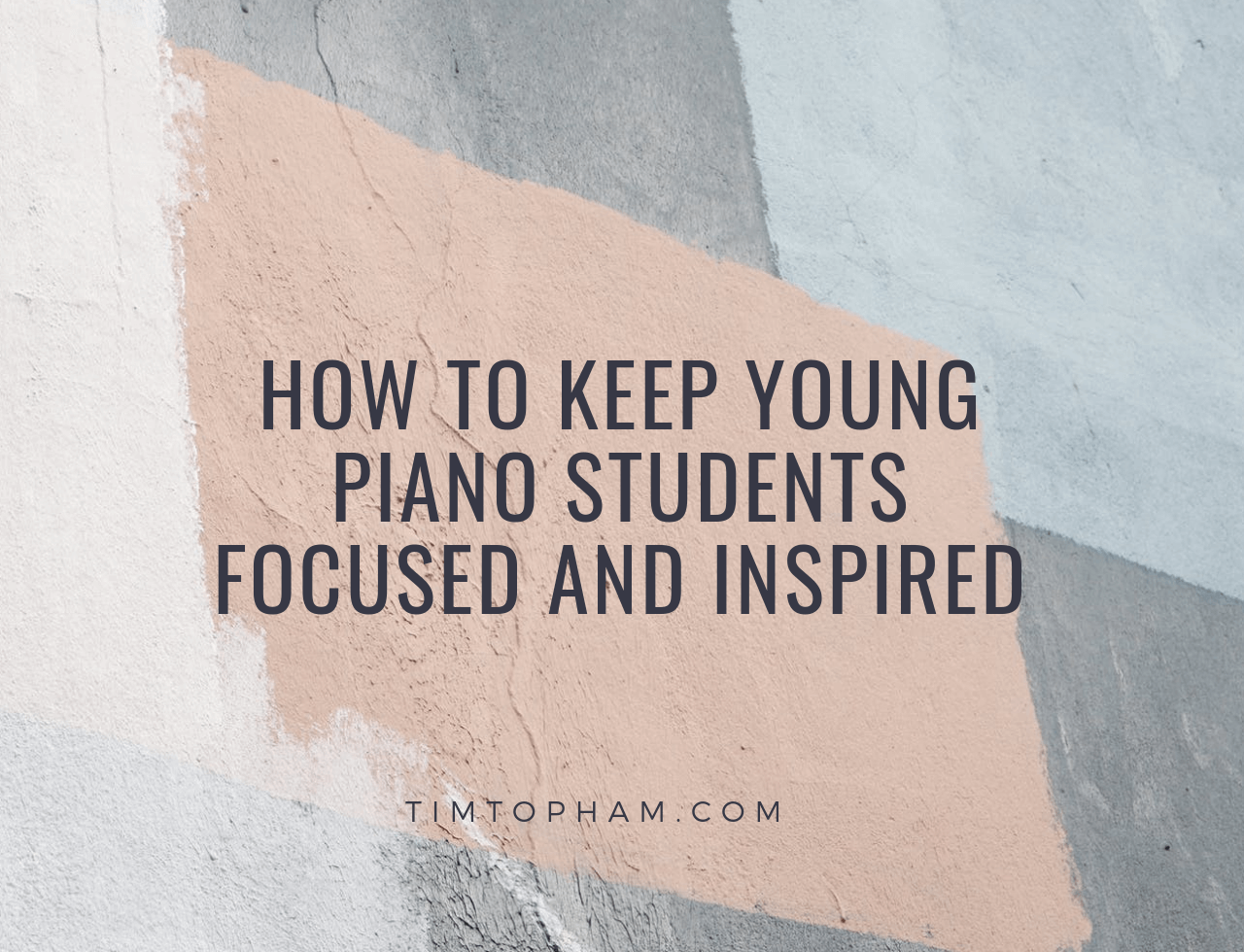 young piano students