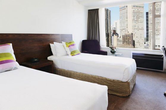 Hotel Accommodation Melbourne Twin Room