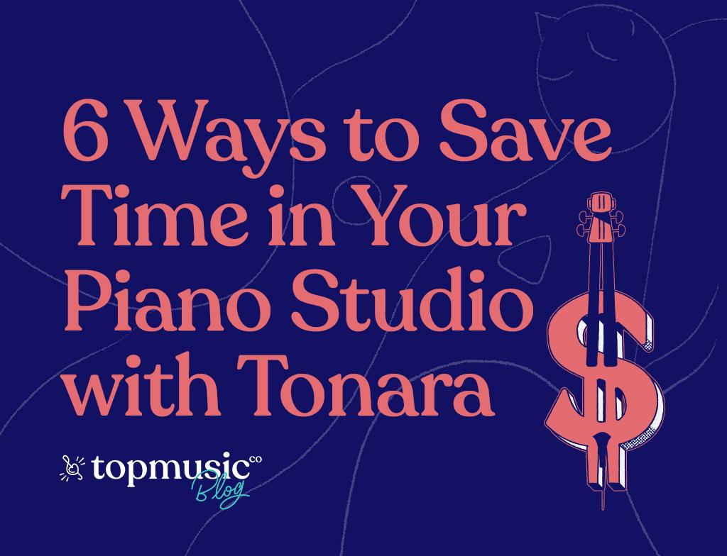Save time with Tonara - main image