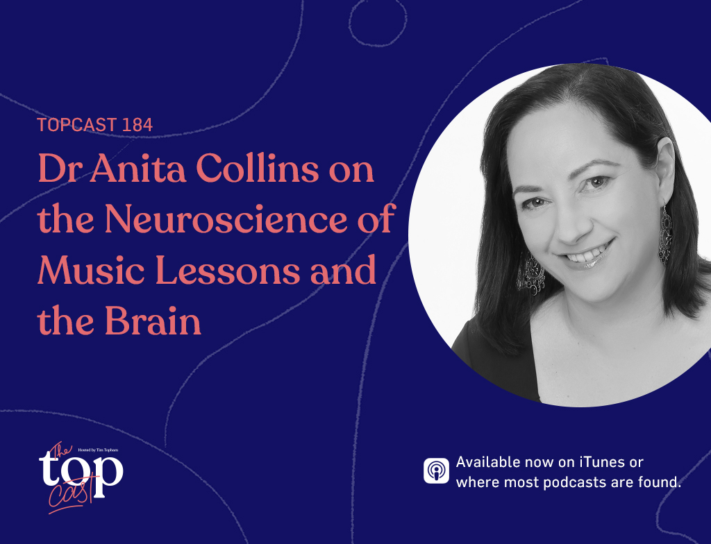 music lessons and the brain - Anita Collins guest