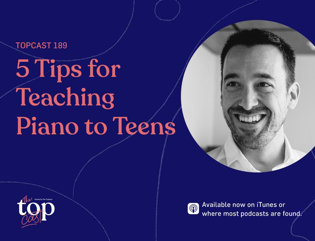 teaching piano to teens main image