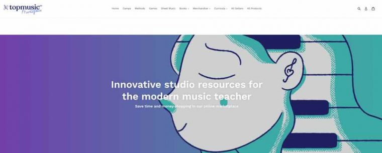 TopMusicPro Evolution also offers a marketplace