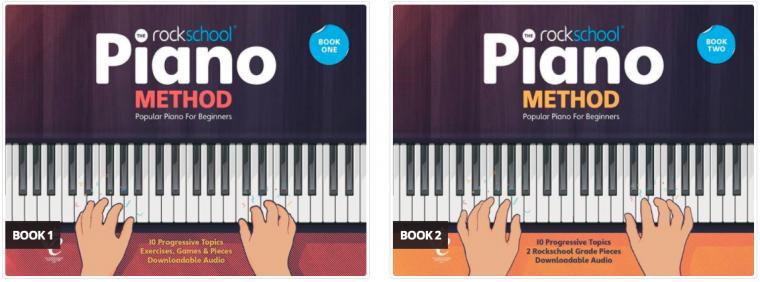 Rockschool piano method books 1 & 2