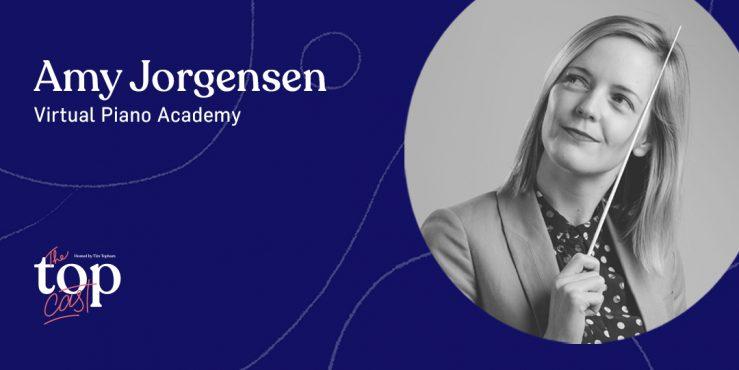 EPISODE 208 - Amy Jorgensen's virtual piano academy