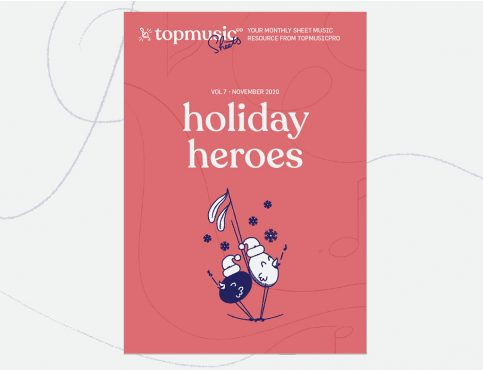 holiday christmas sheet music for piano teachers TMS November